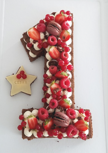 1 brownie fruits rouges