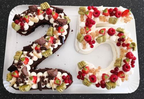 25 brownie et meringue