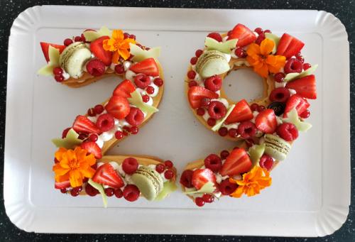 29 sablé  fruits rouges