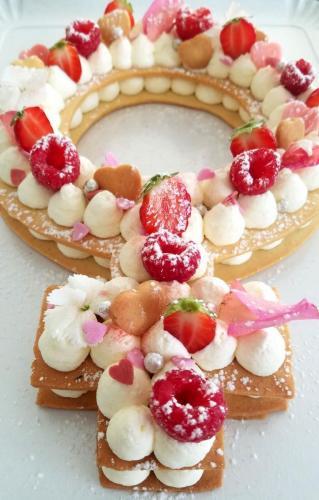 Girl cake sablé 2
