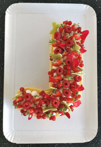 J génoise  fruits rouges